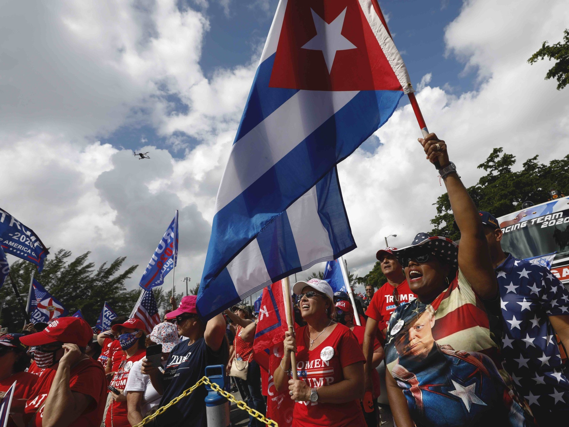 Trump Cubans (Rebecca Blackwell / Associated Press)