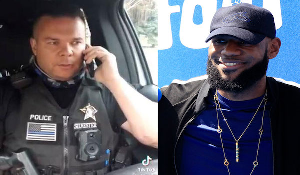 Idaho Cop Lebron James