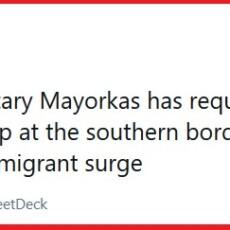 "Press Secretary Jen Psaki Questioned About Scale of Border Crisis ""Not Our Program"""
