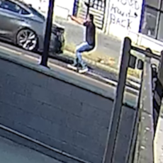 RAW VIDEO: Suspect in DC shooting fires at two drivers, then takes off in Maserati