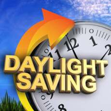 REMINDER: Don't Forget to Set Your Clocks Forward One Hour for Daylight Saving Time