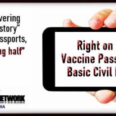 Right on Point: Vaccine Passports vs. Basic Civil Liberties