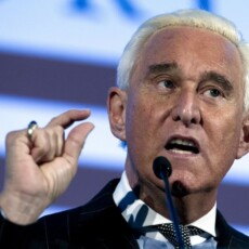 Roger Stone gets hero's welcome in DC…