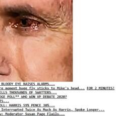 So Drudge posts CNN poll directly underneath…