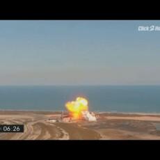 SpaceX Starship explodes during landing phase…