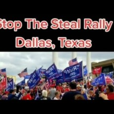 Stop the Steal rally in Dallas…