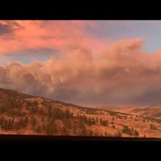 Stunning time-lapse footage from Colorado fires…