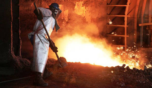 china suicide blast furnace