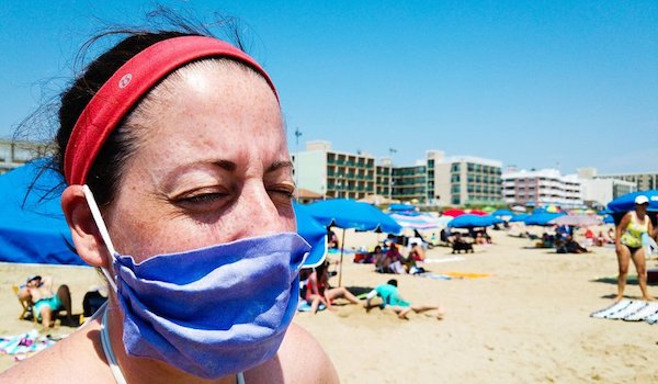 covid masks mandate beach spain
