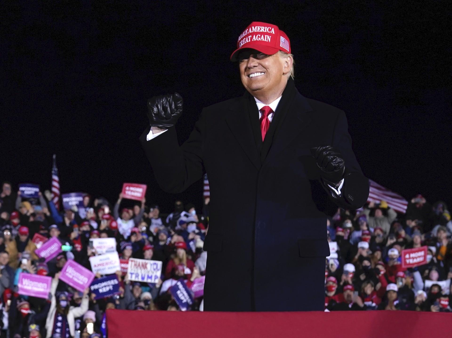 Trump Grand Rapids MAGA (Evan Vucci / Associated Press)
