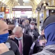 VIDEO: Protestors harass Sen. Lindsey Graham at airport, call him 'traitor'