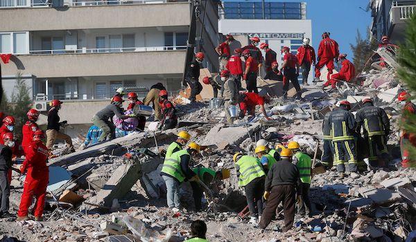 Turkey Izmir Earthquake tsunami