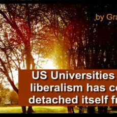 Wait, American universities are 'right-wing institutions'?