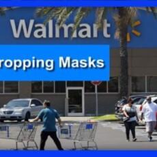Walmart Dropping Masks in Wake of CDC Shift
