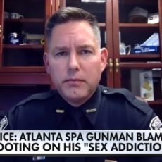 WATCH: Cherokee County, Georgia Sheriff speaks on massage parlor attacks the left 8 dead
