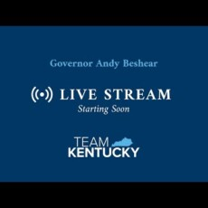 Watch Live — Kentucky Governor Andy Beshear shows off his Covid dictator skills…
