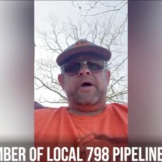 WATCH: Pipeline worker: 'The recent administration has taken my livelihood from me'