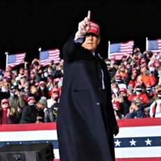 Wisconsin Rally: Donald Trump Plays Video of Joe Biden on Defunding Police